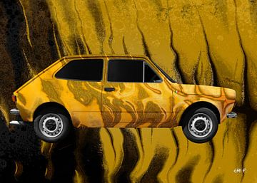 Fiat 127 Art Car von aRi F. Huber