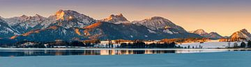 Panorama Hopfen am See, Allgäu, Bavière, Allemagne sur Henk Meijer Photography