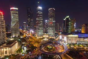 De bund Shanghai van Paul Dings