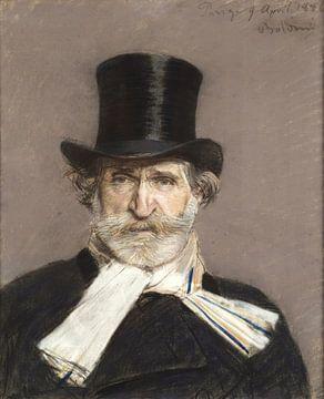 Porträt von Giuseppe Verdi, Giovanni Boldini
