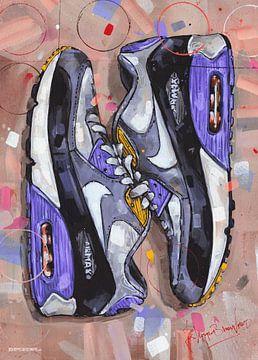 Nike air max 90 Malerei von Jos Hoppenbrouwers