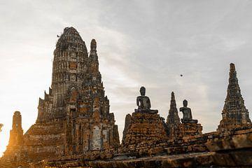 Tempelanlage in Thailand von Felix Brönnimann