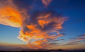 Himmel über Mallorca von Volker Banken