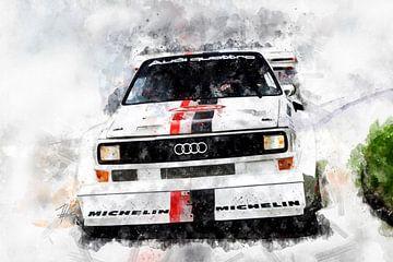 Audi Quattro von Theodor Decker