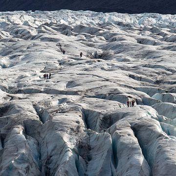 Gletsjerwandeling op Vatnajokull von Menno Schaefer