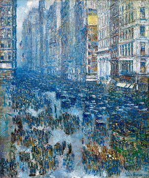 Childe Hassam, Fifth Avenue (New York), 1919 van Atelier Liesjes