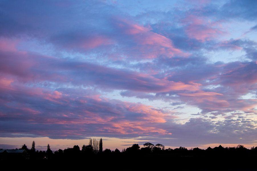 Dutch November sky van Brian Morgan