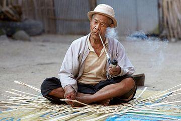 Pijp, Keng Tung, Myanmar (Birma) van Jeroen Florijn