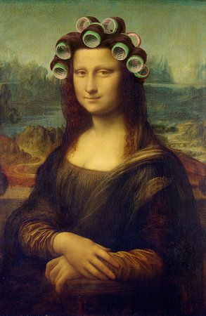 Mona Lisa - The Curly Girly Edition van Marja van den Hurk