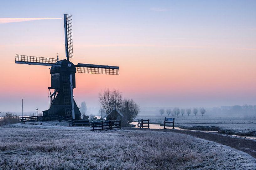 Cold Moring Kinderdijk van Arnoud van de Weerd
