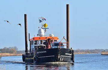 Werkschip Jack the Digger van Piet Kooistra