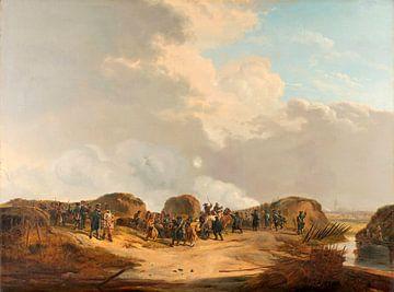 Der Halbmond für Naarden bei der Belagerung, Pieter Gerardus van Os