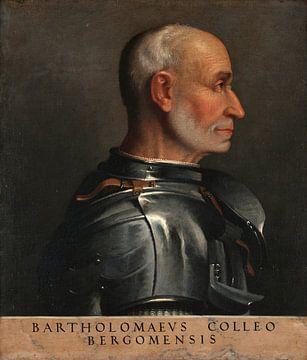 Porträt von Bartolomeo Colleoni, Giovanni Battista Moroni
