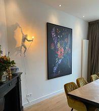 Kundenfoto: Royal Flora von Sander Van Laar, auf leinwand