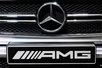 Mercedes Benz G63 AMG logo van Dennis van de Water