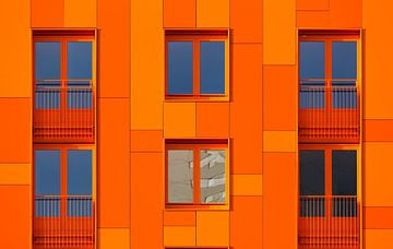 Afwijking in Oranje van Sander van der Werf