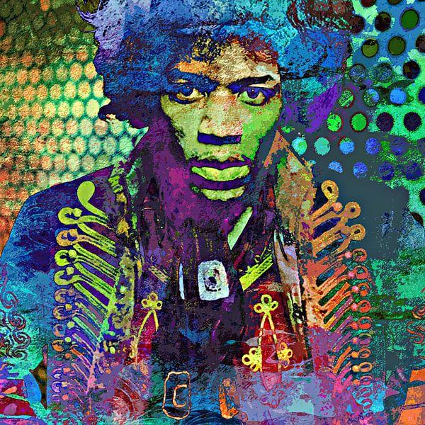Jimi Hendrix van PictureWork - Digital artist