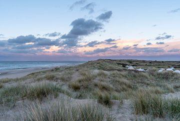 Zonsondergang op Vlieland von Nathalie den Besten