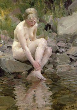 Anders Zorn, Baadster - 1911 von Atelier Liesjes