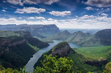 Canyon de la rivière Blyde sur Karin vd Waal