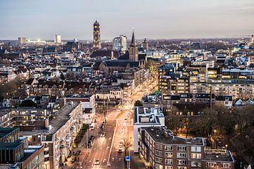 Prachtig uitzicht over Utrecht