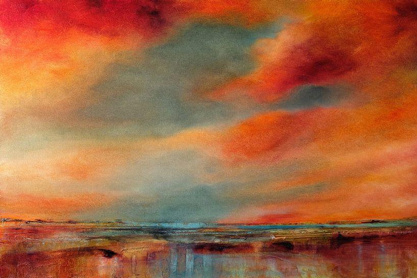 Avond atmosfeer van Annette Schmucker