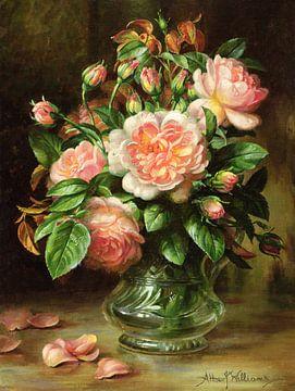 Englische Rosen von Albert Williams