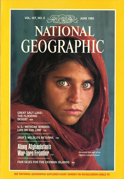 NATIONALE GEOGRAPHISCHE ABDECKUNG 1985 von Jaap Ros