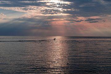 lopen over de zee van Michael Ter horst
