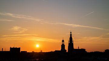 Breda - Grote Kerk Sunset - ILoveBreda van I Love Breda