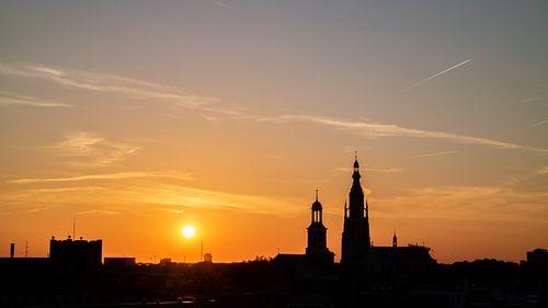Breda - Grote Kerk Sunset - ILoveBreda