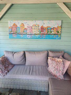 Photo de nos clients: Willemstad par jour sur Happy Paintings