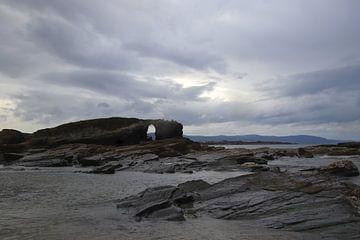Playa del as Catedrales  Galicia Spanje