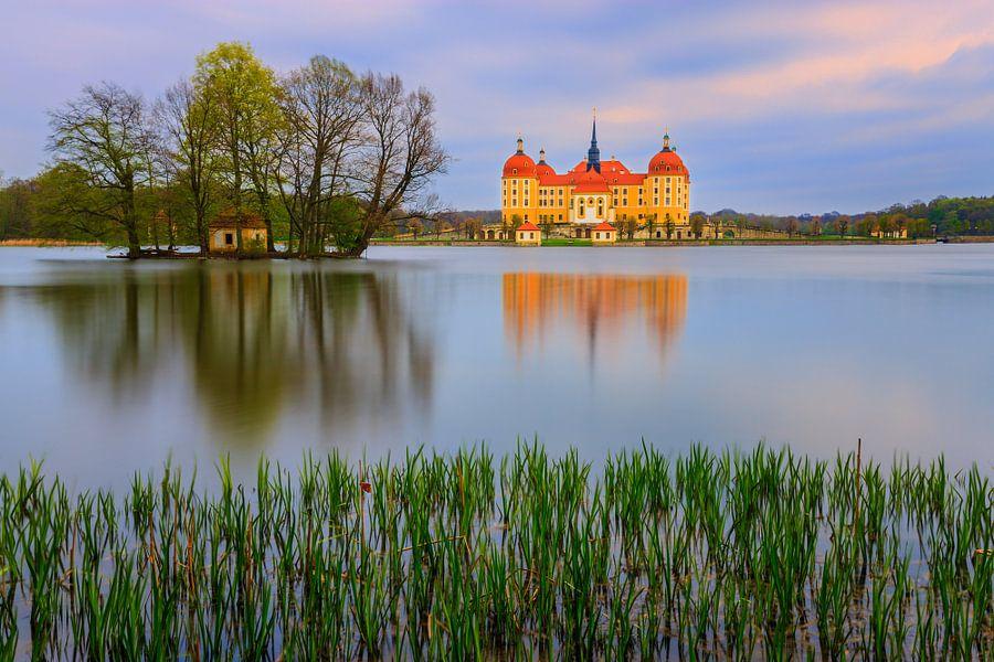 Moritzburg Castle van Henk Meijer Photography