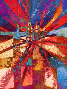Modern, Abstract Digitaal Kunstwerk - You Are The Light van Art By Dominic