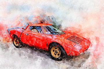 Lancia Stratos HF Stradale von Theodor Decker