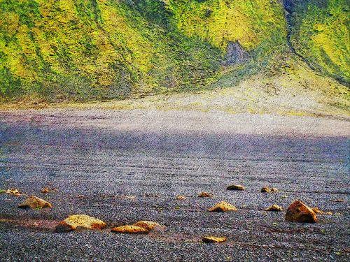 Op weg naar Emstrur, IJsland