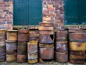 Porseleinfabriek Stoke-onTrent van Lies van den Berg