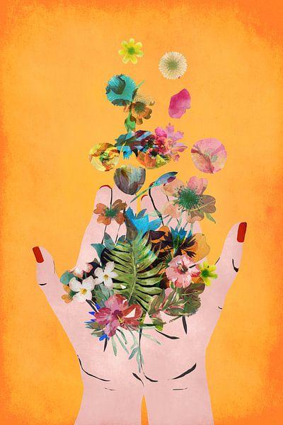 Frida`s Hands von treechild .