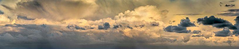 Panorama des Wolkenhimmels von Frans Lemmens