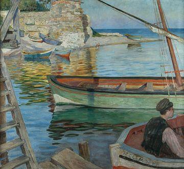 Yordan Kyuvliev (1877-1910)-Der Kai in Messiembria