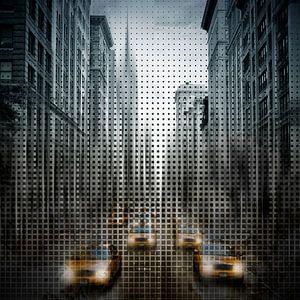 Graphic Art NYC 5th Avenue Traffic V