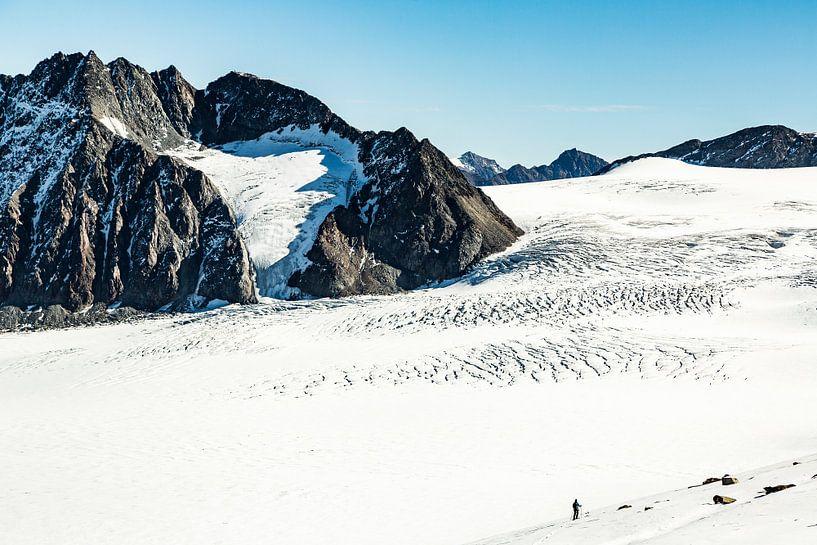 Walking on ice van Hidde Hageman