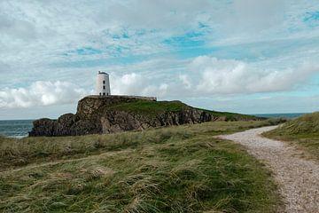 De oude vuurtoren in Noord-Wales van Geerke Burgers