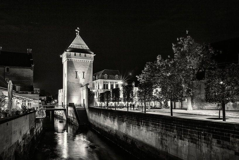 Geulpoort Valkenburg @ Nacht von Rob Boon