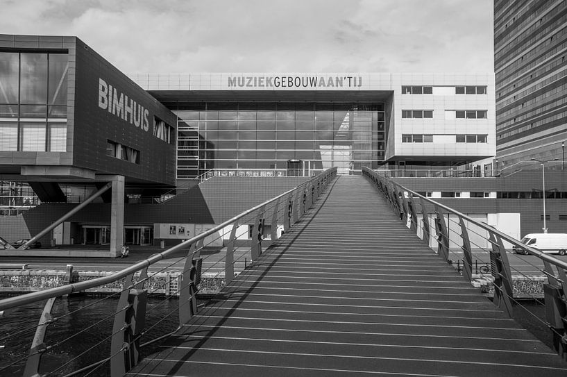 Piet Heinkade - Muziekgebouw aan het IJ van Hugo Lingeman