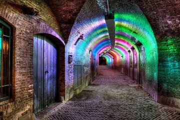 Ganzenmarkt tunnel Utrecht van