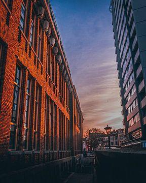 Sonnenaufgang altes Postamt Neude von de Utregter Fotografie