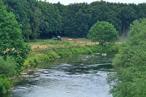 Fluss Lippe 26 van Edgar Schermaul