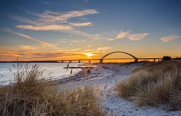 Brücke über den Fehmarnsund sur Werner Reins
